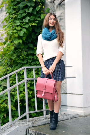 navy OASAP skirt