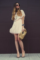 neutral Newlook dress