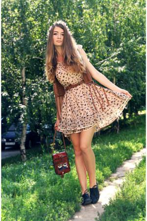 peach AX Paris dress