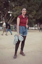Dr Martens boots - vintage Loïs shorts