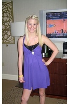 forever 21 dress - forever 21 top - forever 21 necklace