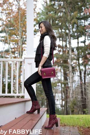 Sophie Hulme bag - leather dvf vest