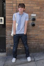 White-eras-vans-shoes-blue-skinny-gap-jeans-sky-blue-soft-polo-gap-shirt-s