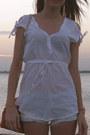White-zara-shirt-carrot-orange-no-name-bag-sky-blue-pull-shorts