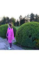 pink Ellos coat