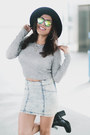 Black-cathy-jean-boots-wolf-noir-sunglasses-charcoal-gray-forever-21-top