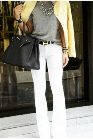 white great J Crew necklace