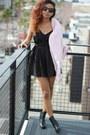 Black-ankle-boots-h-m-boots-light-pink-jacket-tobi-coat
