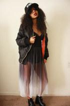 black chictopia shop Armkel boots - black ombre Motel Rocks dress