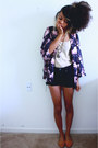 Puce-blossom-shawl-h-m-cardigan-black-old-navy-shorts-neutral-j-crew-top