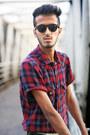 Piazza-italia-boots-pull-bear-shirt-pull-bear-sunglasses