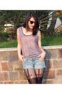 Accessorize-tights-ann-christine-shorts-h-m-necklace-h-m-t-shirt