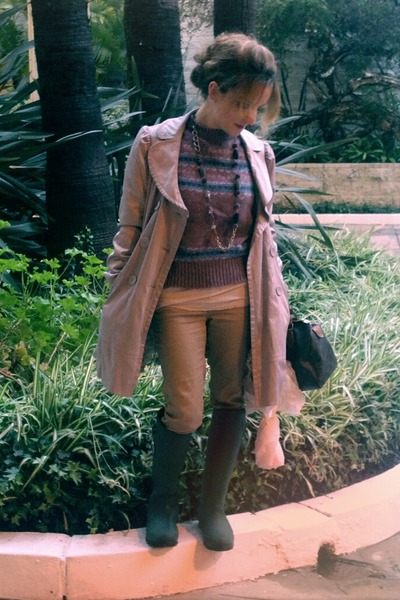 """Forest Green Kamik Boots, Periwinkle Forever 21 Jackets 