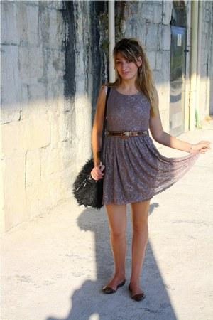 H&M dress - vintage belt
