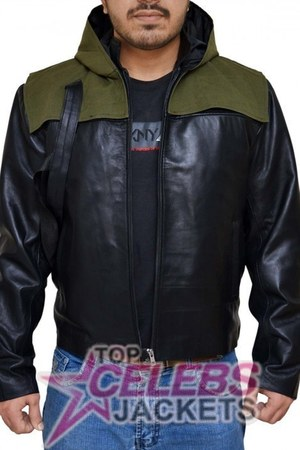 leather Topcelebsjackets hoodie