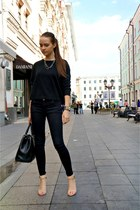 Love Republic bag - Zara jeans - Zara sweater - Zara sandals