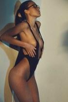 black NY swimwear