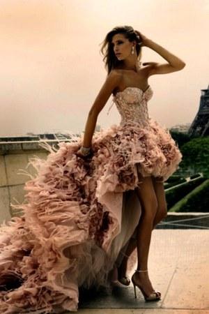 peach fabulous LOVW dress