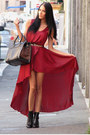 Ruby-red-lovve-random-brand-dress