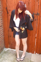 kimono Chiup cape - Ebay shorts - bow grip Boyes hair accessory