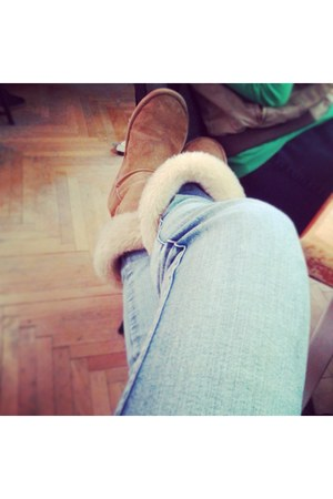 random brand boots - pull&bear jeans