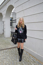 Bag bag - leather skirt skirt