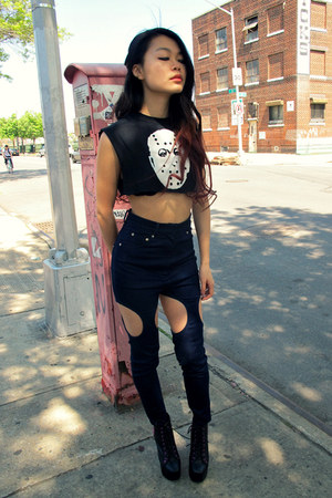 Rockin Bones top - pushbutton jeans