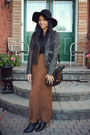 Black-leather-shoes-urban-outfitters-shoes-black-floppy-hat-vintage-hat