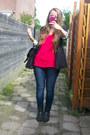 Black-studded-primark-boots-blue-skinny-lindex-jeans