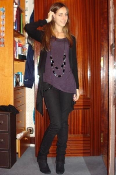 Bershka t-shirt - Zara jacket - Bershka jacket - Bershka pants - Bershka shoes