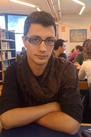 H&M t-shirt - H&M scarf - Paco Rabanne glasses