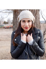Brown-jcpenney-boots-leather-forever-21-jacket-basic-jcpenney-sweater