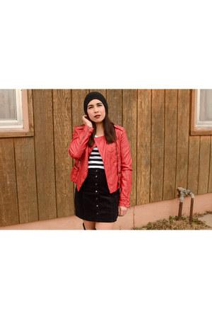 leather jacket Forever 21 jacket