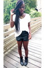 Private-boots-tally-weijl-shirt-urban-outfitters-shorts-six-necklace