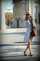 Zara coat - joe fresh style dress - Zara bag - Chinese Laundry flats
