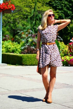 Costa Blanca dress - Zara bag - Costa Blanca belt - Via Spiga heels - DKNY watch