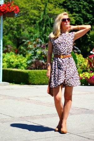 Costa Blanca dress - Zara bag - Costa Blanca belt - Via Spiga heels - DKNY watch