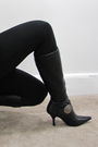 Black-forever-21-blouse-black-miley-cyrus-leggings-black-bcbg-boots-silver
