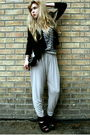 Black-h-m-blazer-white-h-m-top-beige-h-m-pants-black-roots-shoes-black