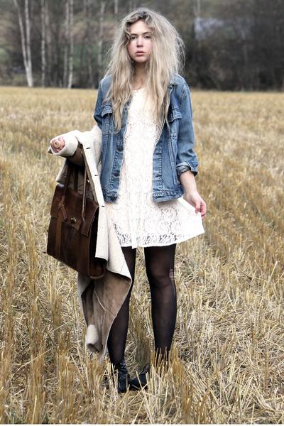 Bik Bok Sheepskin Coat - How to Wear and Where to Buy | Chictopia