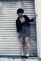 black BDG jacket - black xxi forever skirt