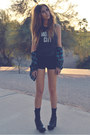 Black-detention-jeffrey-campbell-boots-navy-flannel-urban-outfitters-shirt