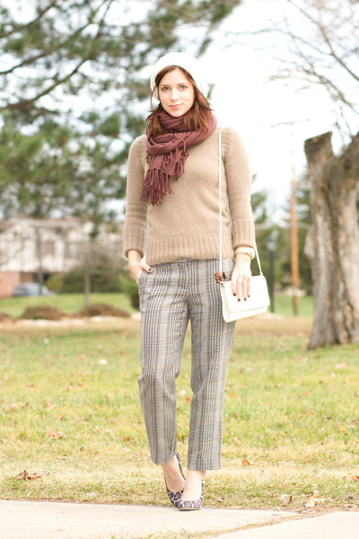 Ralph Lauren hat - J Crew sweater - magaschoni scarf - Givenchy purse