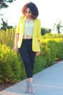 Yellow-bar-iii-blazer-white-forever-21-sunglasses