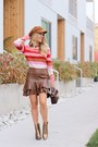 Bronze-leather-vince-camuto-boots-bronze-faux-suede-forever-21-hat