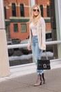 Tan-suede-guess-boots-light-blue-denim-levis-jeans-black-leather-gucci-bag