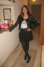 H-m-jacket-h-m-top-forever-21-skirt-express-belt-unlisted-boots