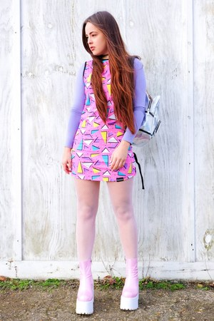 bubble gum pastel Dreamland Clothing dress
