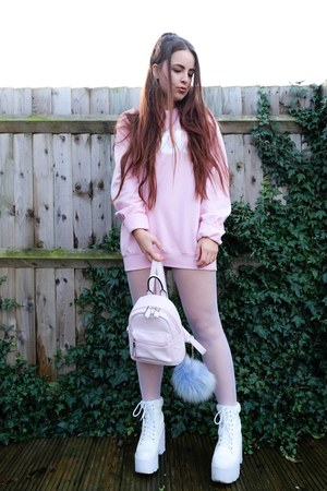 bubble gum oversized Five Pound Tee sweatshirt