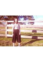 Just jeans vest - Sportsgirl top - Sportsgirl pants - Sportsgirl shoes